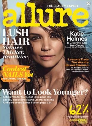 Katie Holmes Shows Her Dark Side in Allure Photo Shoot