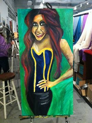 Snooki Immortalized In New Painting: Love It or Loathe It? (PHOTO)