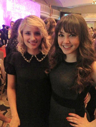 Dianna Agron Speaks at Pro-Choice Convention!