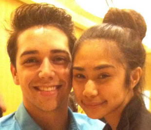 Jessica Sanchez and American Idol 2013 Hopeful Lazaro Arbos are Twitter Besties!