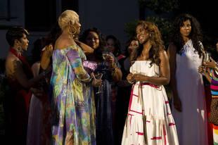 "Kenya Moore Calls Kandi Burruss's Housewarming Party a ""Trap"""