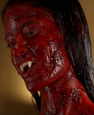 """Jessica Clark Talks Being Covered In Lilith's """"Red, Sticky Blood Goo"""" (VIDEO)"""