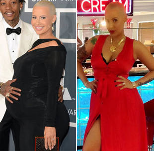 Amber Rose's Shockingly Slim Post-Baby Body (PHOTO)