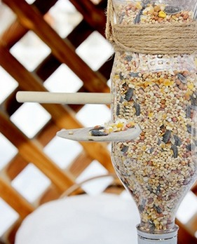 Welcome the Birds Home With This Super Simple DIY Bird Feeder