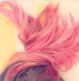 Lauren Conrad's Hair Turns Pink! Awful or Awesome? (PHOTOS)