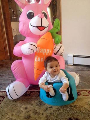 Snooki and Her Son, Lorenzo, Celebrate Easter Early — Adorable Alert! (PHOTO)