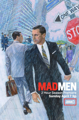 Mad Men Season 6 Poster Revealed: What's the Story? (PHOTO)