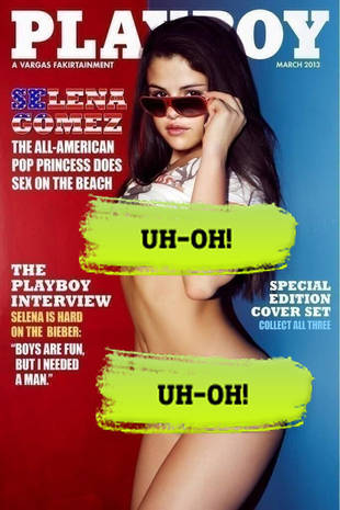 Did Selena Gomez Pose for Playboy's March 2013 Cover?