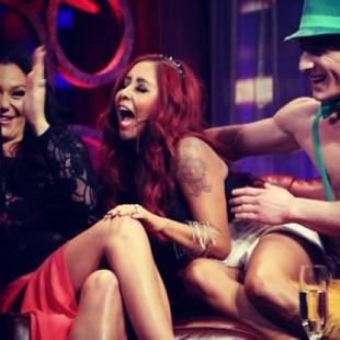 Snooki and JWOWW Have a Wild Night With Jenny McCarthy! (PHOTOS)