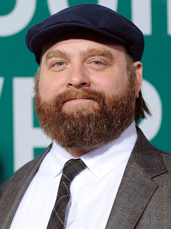 Skinny Zach Galifianakis Needed Prosthetic Belly For Hangover 3