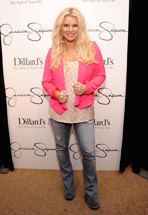 "Pregnant Jessica Simpson: I Only Want Two Kids, But ""Accidents Happen"""