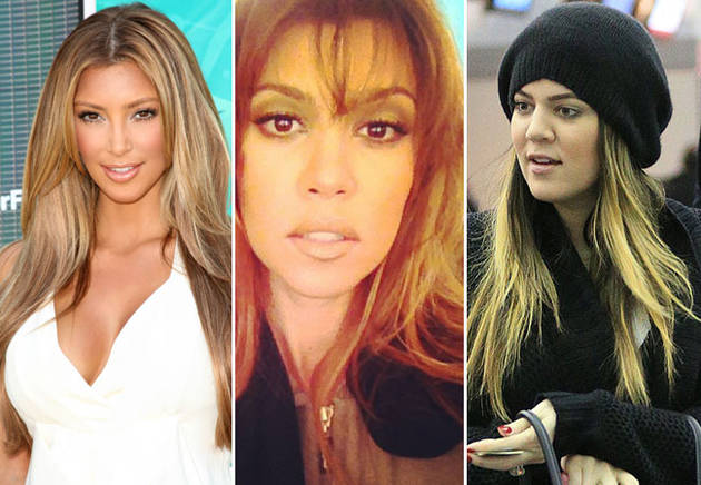 Kim Kardashian vs. Kourtney and Khloe: Who's The Best Blonde?