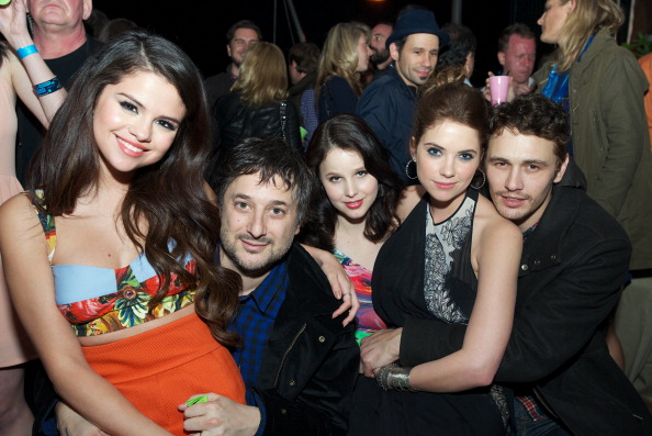 Ashley Benson and James Franco Caught Cuddling at Spring Breakers SXSW Premiere (PHOTO)