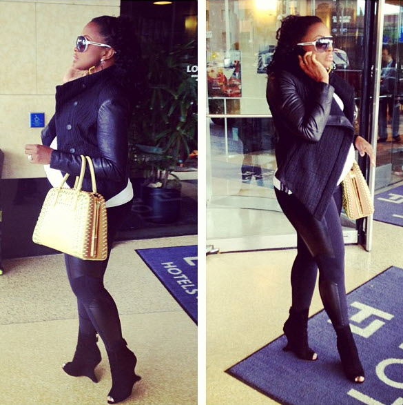 What Will Pregnant Phaedra Parks Name Her Second Son?