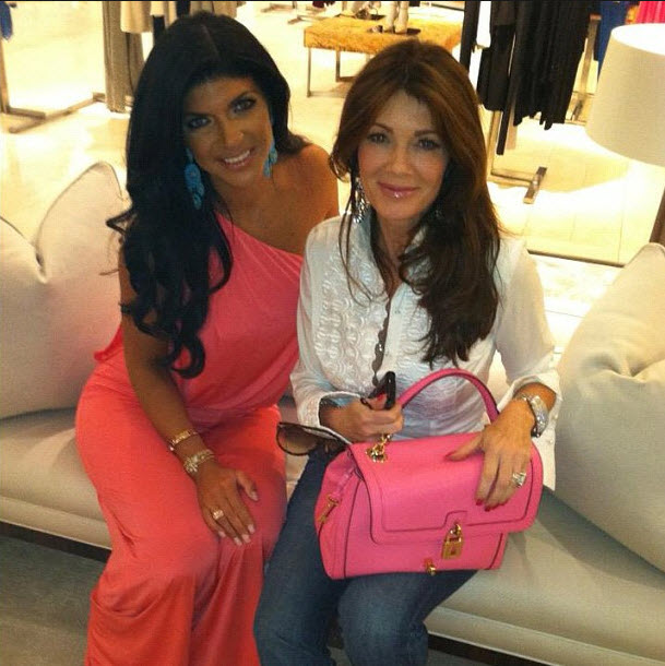 "Teresa Giudice Is ""So Excited"" For Lisa Vanderpump on Dancing With the Stars"