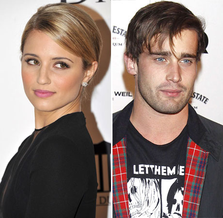 Dianna Agron Spotted With Rumored Boyfriend, Christian Cooke!
