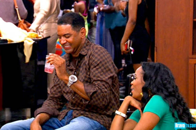 Walter Jackson Causes Kenya Moore to Twirl Out of Control: Real Housewives of Atlanta Recap, Season 5, Episode 19