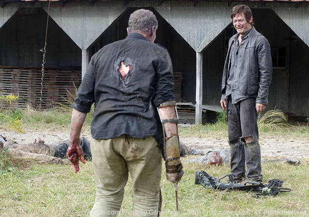 The Walking Dead Season 3 Finale: Daryl Wants to Rip The Governor's Head Off