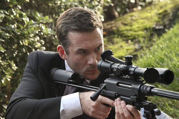 Revenge's Barry Sloane Talks Aiden Mathis's New Mission Following His Sister's Death