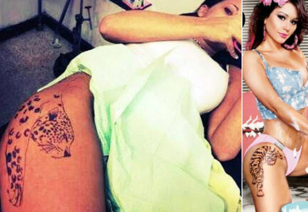 JWOWW vs. Jenelle Evans: Whose Huge Hip Tattoo Is Hotter? (PHOTOS)