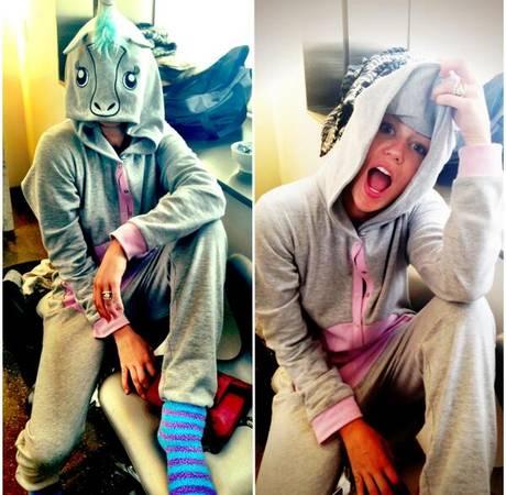 Miley Cyrus Twerking Video: Shakes Her Butt in Unicorn Onesie! (VIDEO)