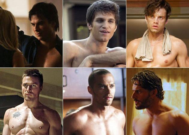 Top 15 Buff and Shirtless TV Actors