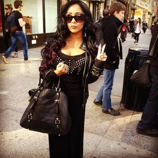 What Crazy Thing Did Snooki Do in New York City? (PHOTO)