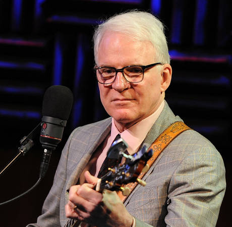 """Steve Martin Jokes About Baby Daughter's Name: """"Conquistador Is a Statement"""""""