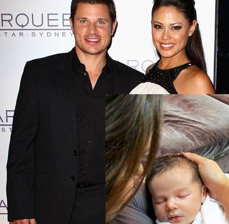 "Nick Lachey Opens Up on Vanessa's ""Baby Blues,"" Says They Want This Many Kids"