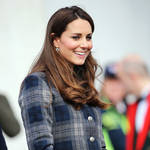 Pregnant Kate Middleton Plays Ball