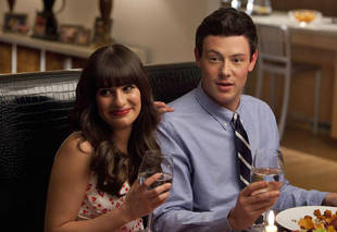 "Cory Monteith Rehab: Lea Michele ""Calmed"" Him — Report"