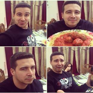 Vinny Shows Off Hilarious Family Impressions — Including Uncle Nino! (PHOTO)
