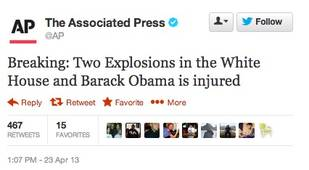 Associated Press Twitter Account Hacked, President Obama Is Fine