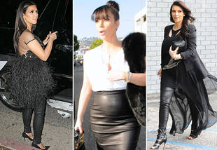 Pregnant Kim Kardashian: Dressing Badly To Land A Weight Loss Deal?