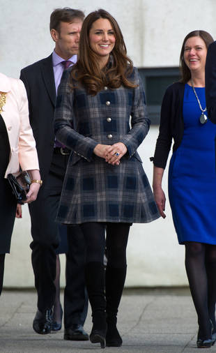 "Pregnant Kate Middleton Called Out For ""Inappropriate"" Hemline: What Do You Think?"
