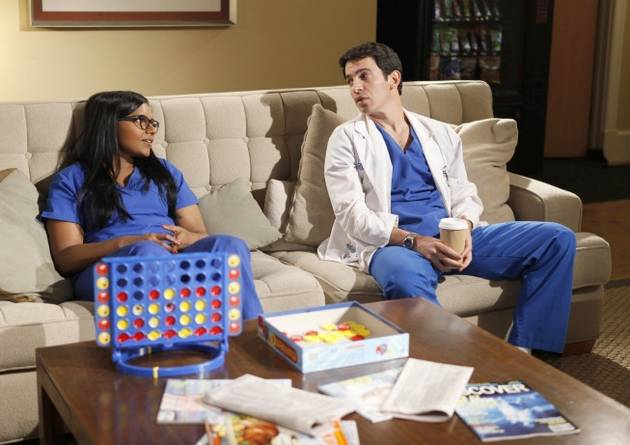 The Mindy Project's Chris Messina Talks Nudity on Conan