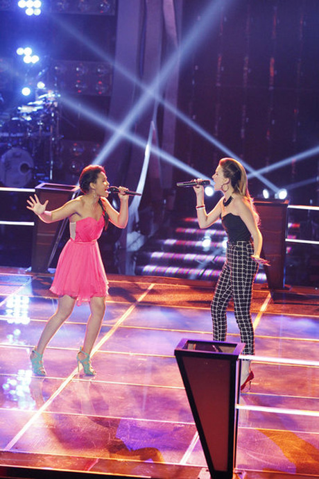Who Won the The Voice 2013 Battle Rounds on April 16, 2013?