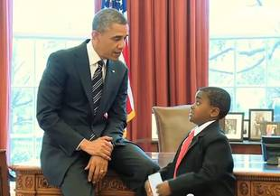 Kid President and President Obama Have an Adorable Meeting in the Oval Office (VIDEO)
