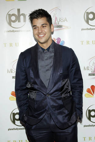Rob Kardashian Cries When He Sees Himself Naked!