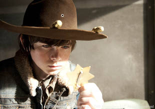 Carl Goes Rogue on The Walking Dead Season 3 Finale! Future Governor?