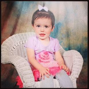 Katie Yeager Shares Baby Molli's First School Pic! (PHOTO)