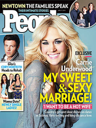 Carrie Underwood Says She Would Stay Home For Her Man If He Asked