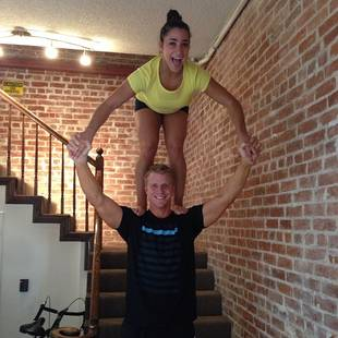 "Sean Lowe and Aly Raisman Are ""Partners"" — Check 'Em Out in Action! (PHOTO)"