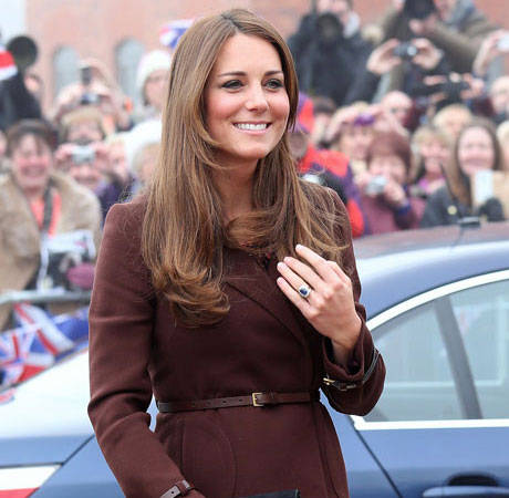 Pregnant Kate Middleton: My Friends Keep Texting Me Baby Names
