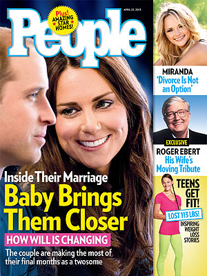 Pregnant Kate Middleton and Prince William Are Bonding Over Royal Baby