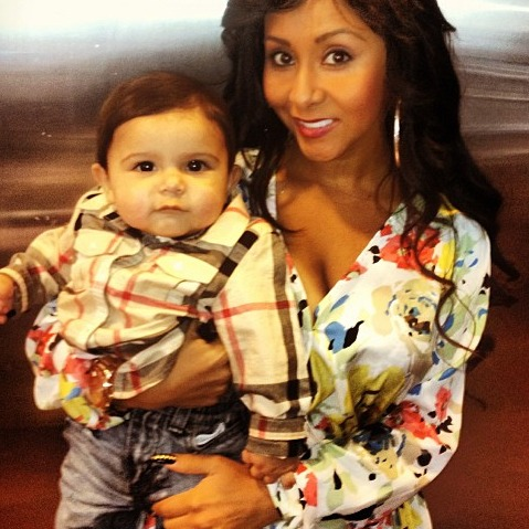 Lorenzo Is So Big Now! Snooki's Baby Is a Little Man (PHOTOS)