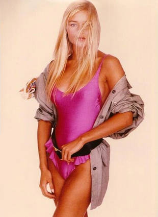Flashback Photo! Yolanda Foster Models a Swimsuit in 1990