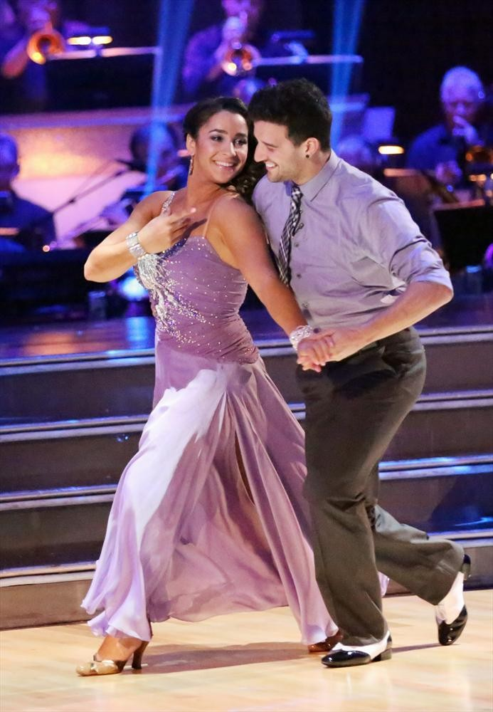Dancing With the Stars 2013: Mark Ballas Says Aly Raisman's Contemporary Is in His Top 10