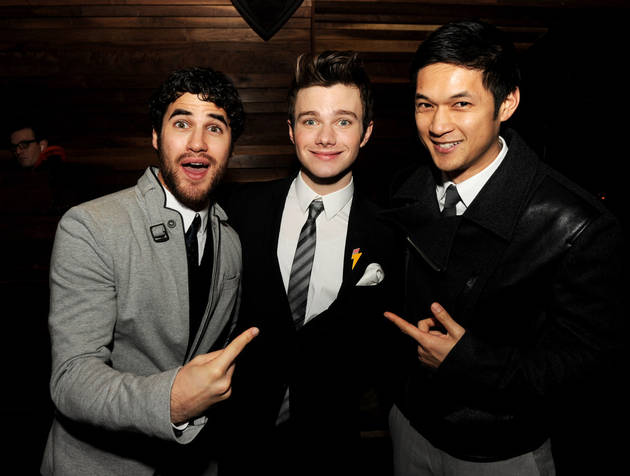 Did Glee Just Imply Darren Criss and Chris Colfer Aren't Friends?