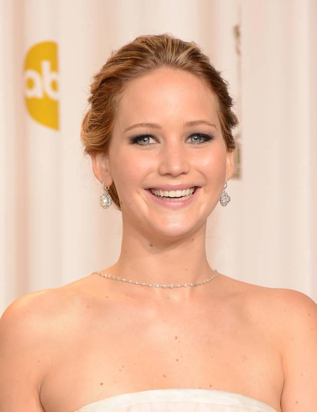 Jennifer Lawrence Barely Avoids Double Nip Slip on Set of New Film